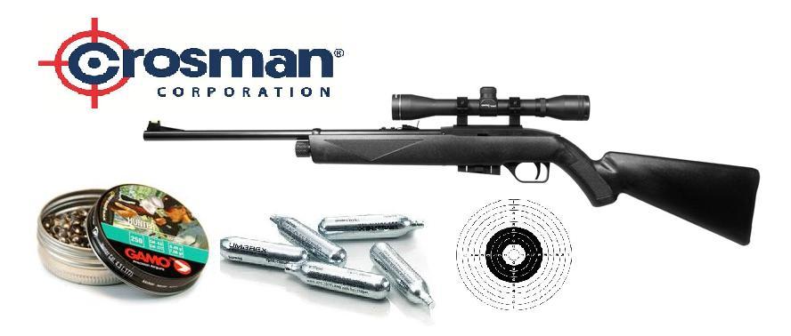 ea5e5208b Vzduchová puška Crosman 1077 cal. 4,5mm SET