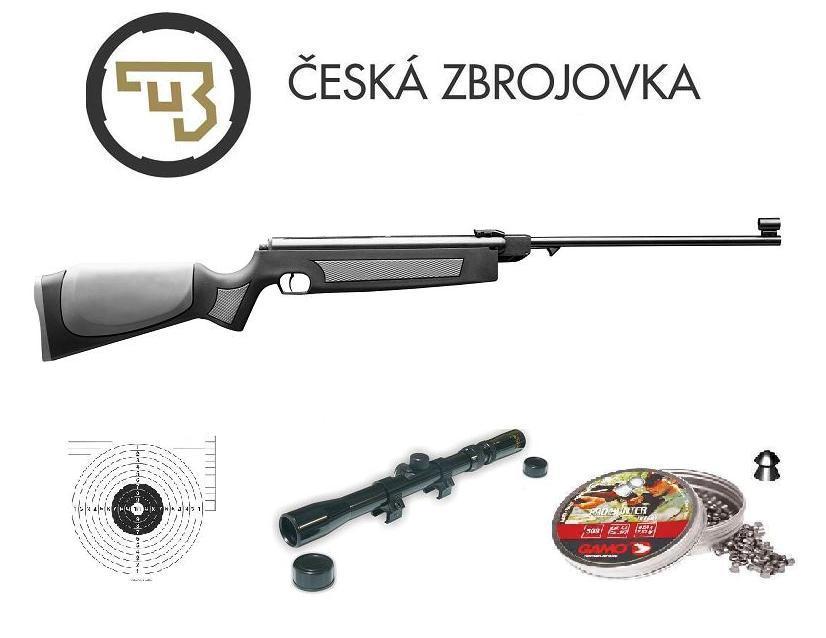 b2824192a Vzduchová puška Slavia 634 cal. 4,5mm Color SET ŠEDÁ