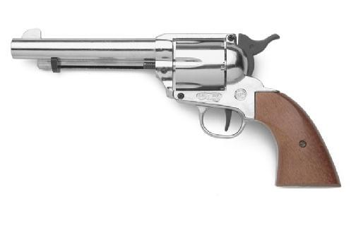 Plynový revolver Bruni Single Action Peacemaker chrom cal.9mm